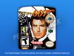 N64 - GoldenEye 007 (Player's Choice) Label