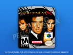N64 - Goldeneye X Label