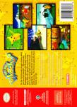 N64 - Hey You, Pikachu! (back)