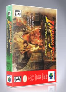 N64 - Indiana Jones and the Infernal Machine