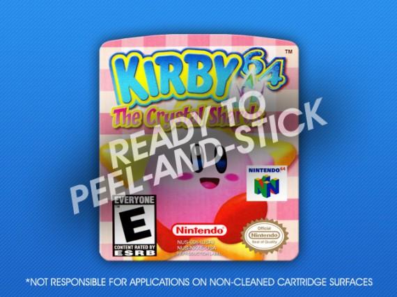 N64 - Kirby 64 Label