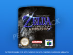 N64 - Legend of Zelda: Ocarina of Time Master Quest (PAL) Label