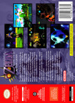 N64 - Legend of Zelda: Majora's Mask Master Quest (back)