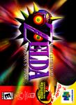 N64 - Legend of Zelda, The: Majora's Mask (front)