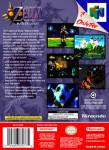 N64 - Legend of Zelda: Majora's Mask Master Quest (back)