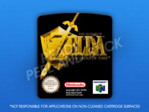 N64 - Legend of Zelda: Ocarina of Time (PAL) Label