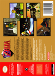 N64 - The Legend of Zelda: Ocarina of Time (back)