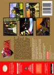 N64 - Legend of Zelda, The: Ocarina of Time (Collector's Edition) (back)