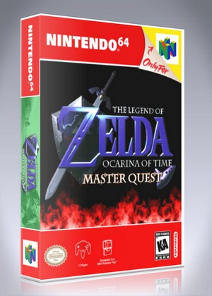 N64 - Legend of Zelda: Ocarina of Time Master Quest