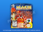 N64 - Mace: The Dark Age Label