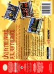 N64 - Mace: The Dark Age (back)