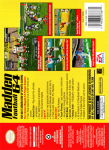 N64 - Madden Football 64 (back)