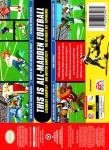 N64 - Madden NFL 99 (back)