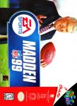 N64 - Madden NFL 99 (front)
