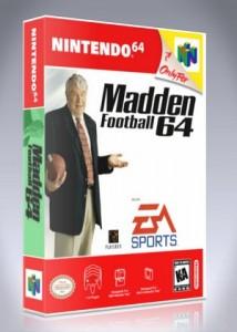 N64 - Madden Football 64