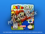 N64 - Mario Golf Label