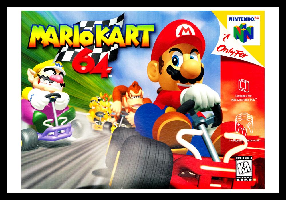 Mario Kart 64 | Retro Game Cases