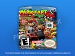 N64 - Mario Kart 64 Label