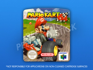 N64 - Mario Kart 64 PAL Label