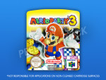 N64 - Mario Party 3 PAL Label