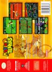 N64 - Mario Tennis (back)