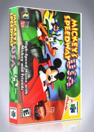 N64 - Mickey's Speedway USA