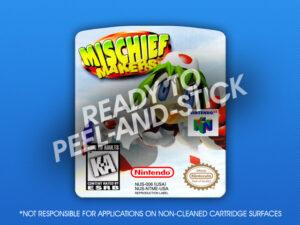 N64 - Mischief Makers Label