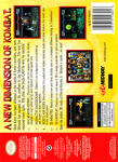 N64 - Mortal Kombat 4 (back)