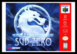 N64 - Mortal Kombat Mythologies: Sub-Zero Poster