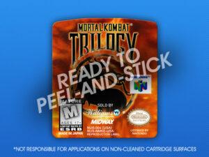 N64 - Mortal Kombat Trilogy Label