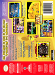 N64 - Ms. Pac-Man: Maze Madness (back)