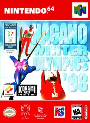 N64 - Nagano Winter Olympics '98 (front)