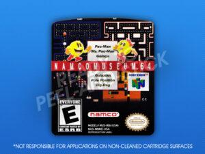 N64 - Namco Museum 64 Label