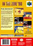 N64 - NBA In The Zone 98 (back)