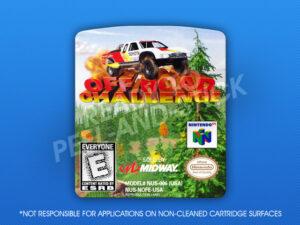 N64 - Off-Road Challenge Label