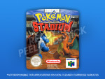 N64 - Pokemon Stadium PAL Label