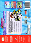 N64 - The Powerpuff Girls: Chemical X-Traction (back)
