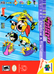 N64 - The Powerpuff Girls: Chemical X-Traction (front)