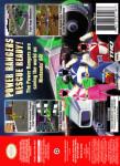 N64 - Power Rangers: Light Speed Rescue (back)