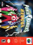 N64 - Power Rangers: Light Speed Rescue (front)