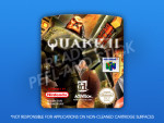 N64 - Quake II (PAL) Label