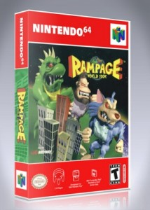 N64 - Rampage World Tour
