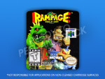 N64 - Rampage World Tour Label