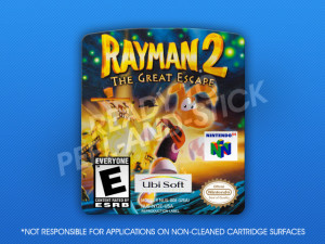 N64 - Rayman 2: The Great Escape Label