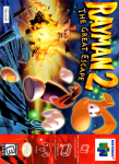 N64 - Rayman 2: The Great Escape (front)