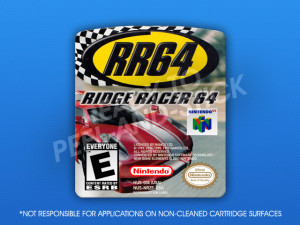 N64 - Ridge Racer 64 Label