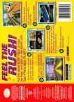 N64 - San Francisco Rush: Extreme Racing (back)