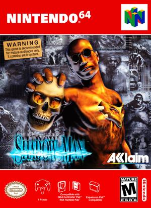 N64 - Shadow Man (front)
