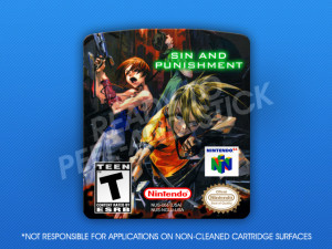 N64 - Sin and Punishment Label