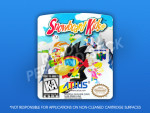 N64 - Snowboard Kids Label